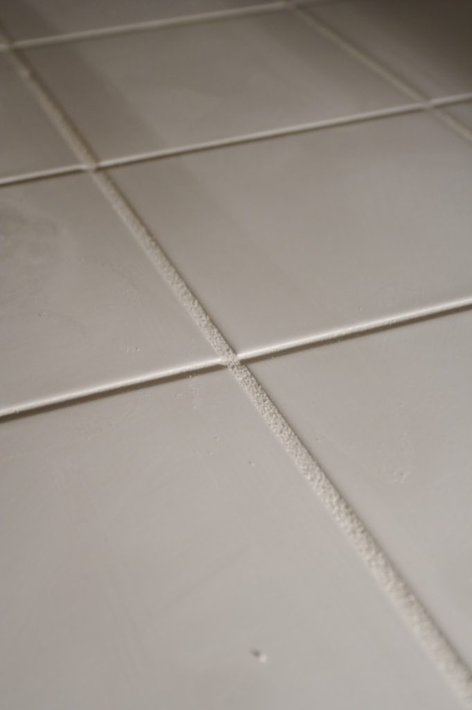 Simple tip for cleaning the tile grout in your rental property