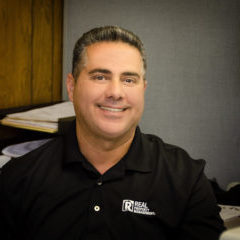 Individual headshots, group portrait and individual portrait of owner for REAL property management in Modesto, CA.